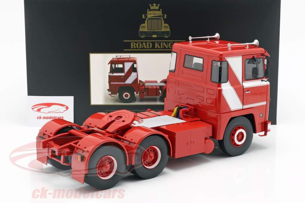 Scania LBT 141 tractor año de construcción 1976 rojo / blanco 1:18 Road Kings