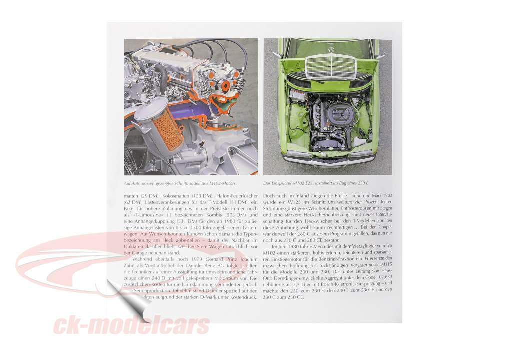 Buch: Mercedes-Benz - Die Baureihe W123 von 1976 bis 1986 / von Brian Long