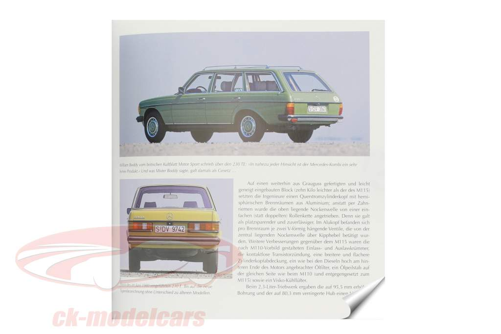 Book: Mercedes-Benz - The model series W123 from 1976 to 1986 by Brian Long