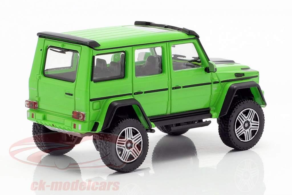 Brabus 4x4² basé sur Mercedes-Benz G500 4x4² année de construction 2016 vert 1:87 Minichamps