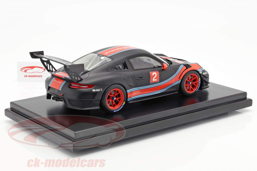 Porsche 911 (991 II) GT2 RS Clubsport #2 Martini Livery With Showcase 1:12 Spark