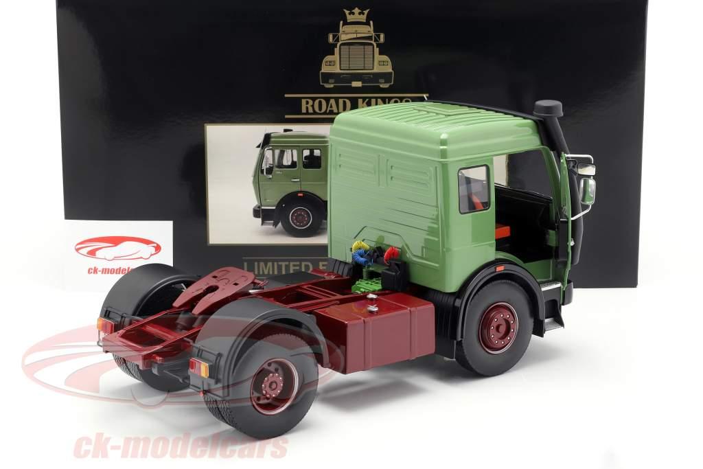 Mercedes-Benz NG 1632 tracteur année de construction 1973 vert 1:18 Road Kings