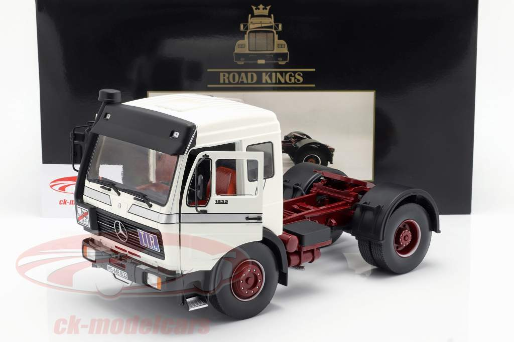 Mercedes-Benz NG 1632 Traktor Opførselsår 1973 hvid 1:18 Road Kings