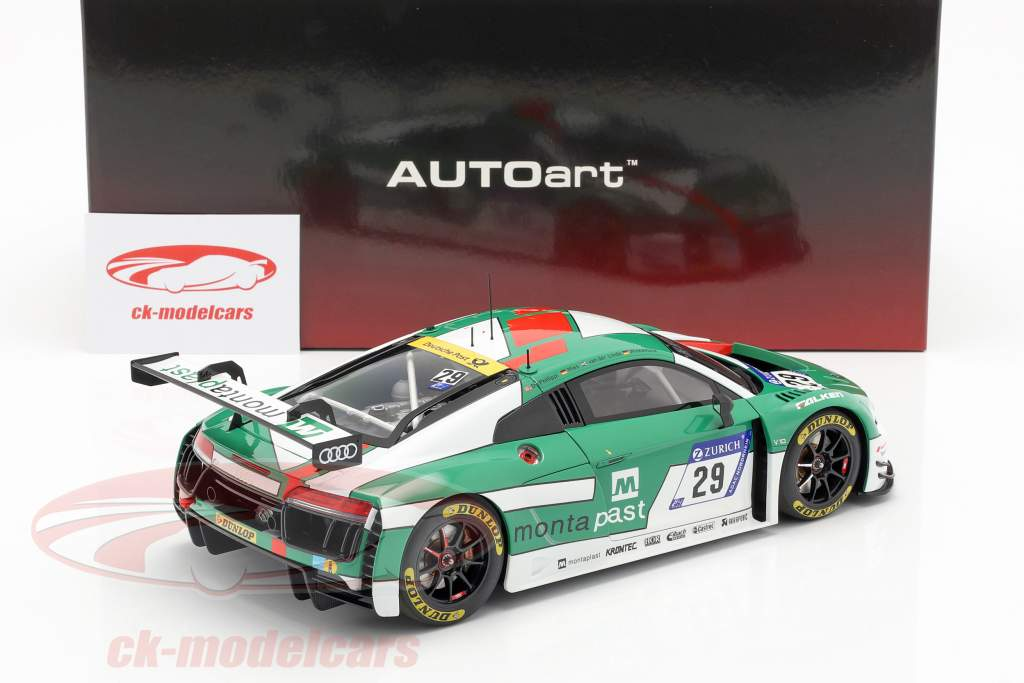 Audi R8 LMS #29 gagnant 24h Nürburgring 2017 Audi Sport Team Land 1:18 AUTOart