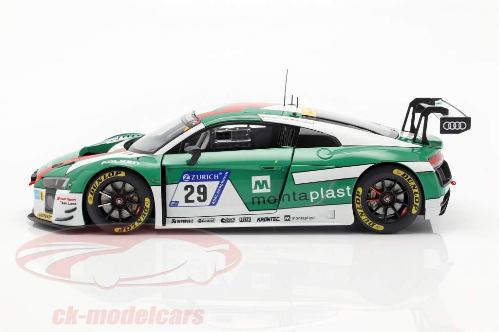 Audi R8 LMS #29 vincitore 24h Nürburgring 2017 Audi Sport Team Land 1:18 AUTOart