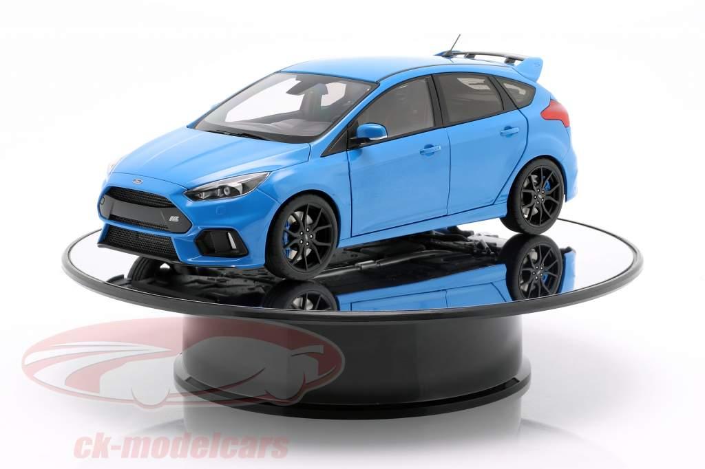 espelho plataforma giratória diâmetro 25,5 cm para carros modelo em escala 1:18 AUTOart