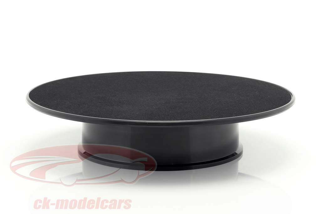 Drehteller Durchmesser ca. 25,5 cm für Modellautos Maßstab 1:18 schwarz AUTOart