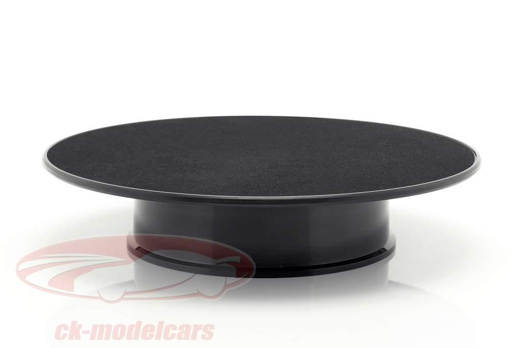 mesa giratória diâmetro ca. 25,5 cm para carros modelo em escala 1:18 preto AUTOart