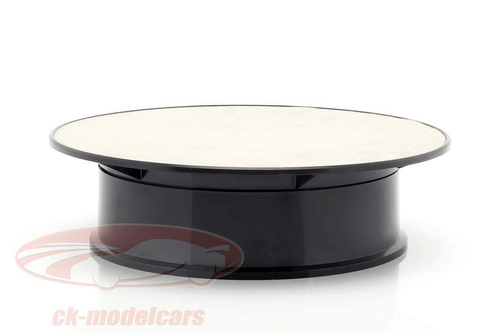 Turntable diameter ca. 20 cm for model cars in scale 1:24 silver AUTOart