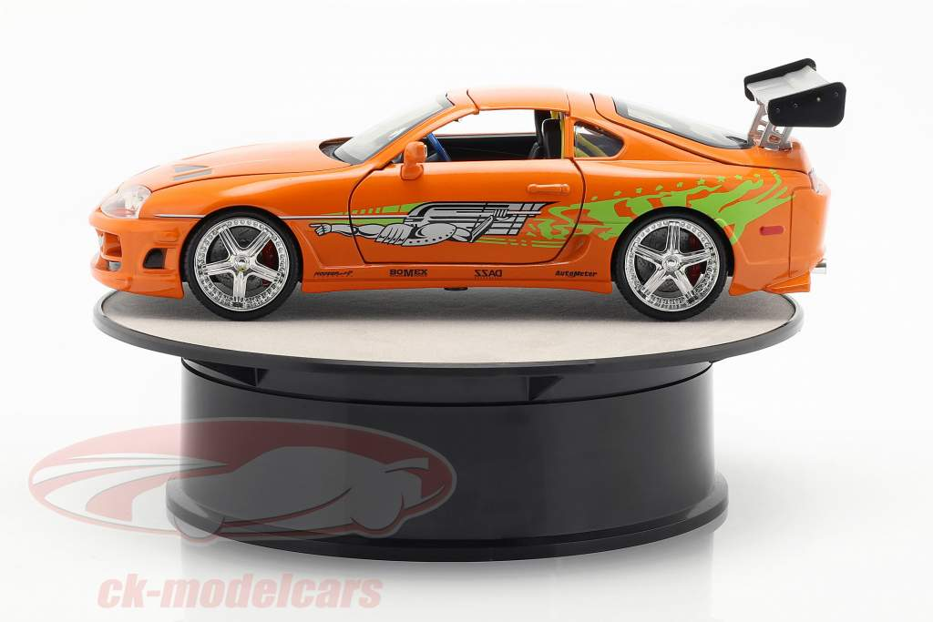 Drehteller Durchmesser ca. 20 cm für Modellautos Maßstab 1:24 silber AUTOart