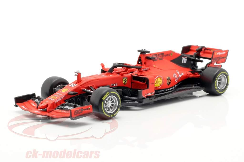 Charles Leclerc Ferrari SF90 #16 australiano GP F1 2019 em bolha 1:43 Bburago