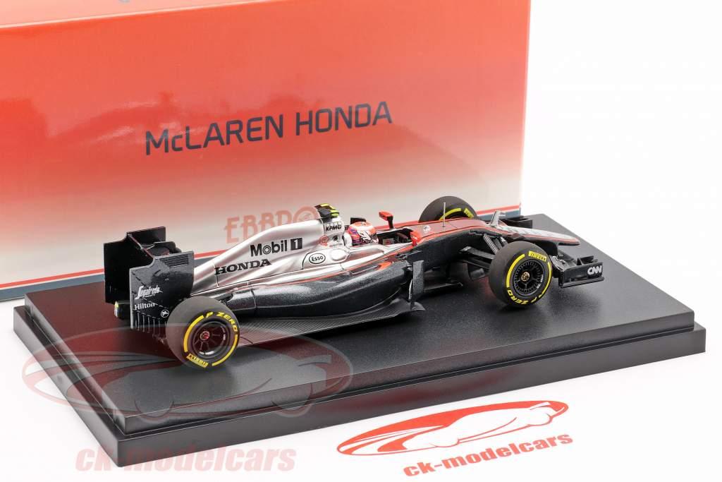 Jenson Button McLaren MP4-30 #22 Early Season formula 1 2015 1:43 Ebbro