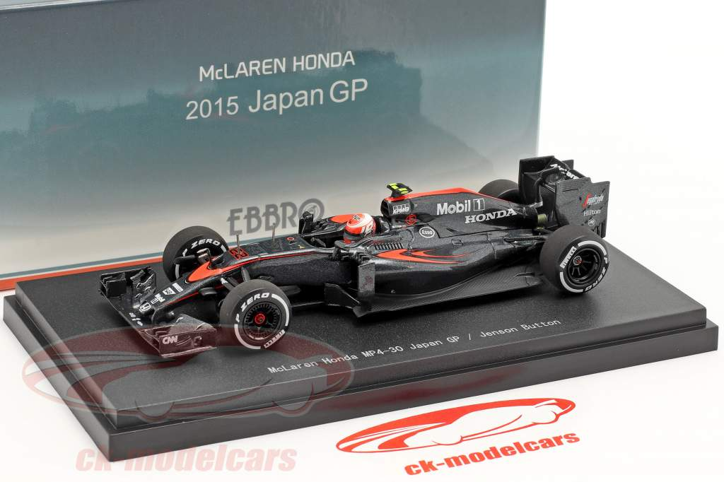 Jenson Button McLaren MP4-30 #22 Japon GP formule 1 2015 1:43 Ebbro