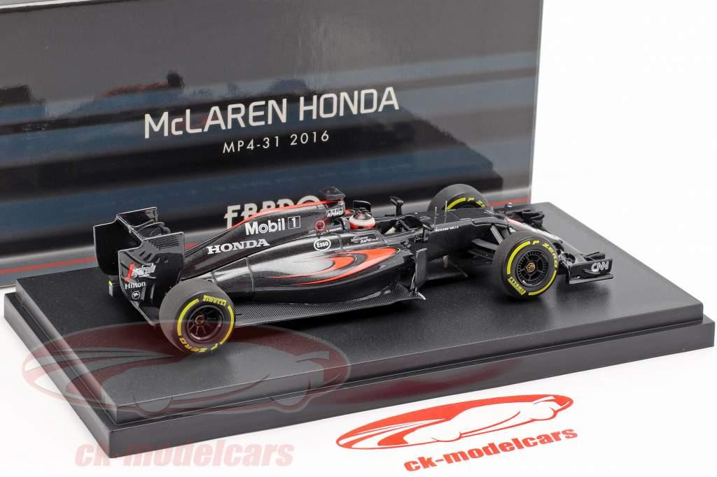 Stoffel Vandoorne McLaren MP4-31 #47 bahrain GP formel 1 2016 1:43 Ebbro