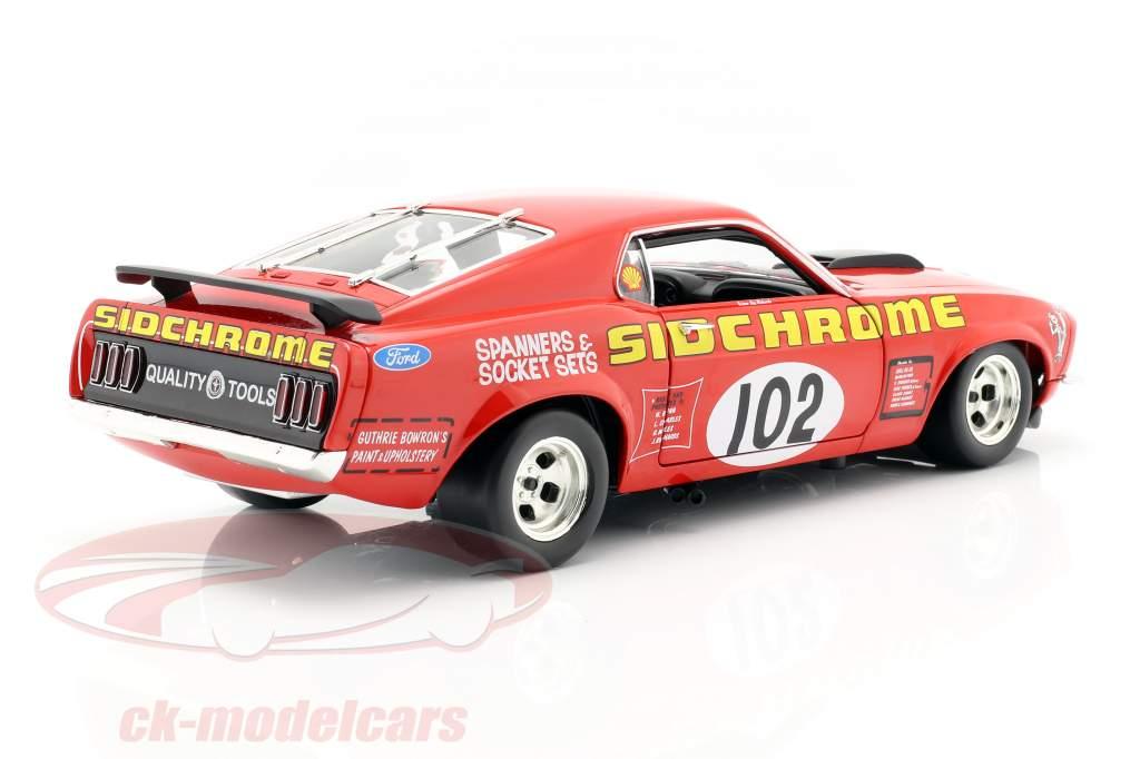 Ford Mustang Boss 302 Trans Am #102 Jim Richards 1969 1:18 GMP