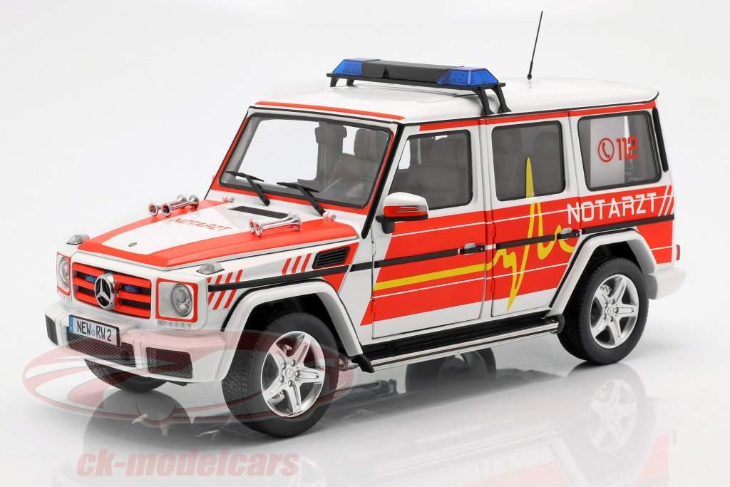 Mercedes-Benz Classe G (W463) 2015 emergenza 1:18 iScale