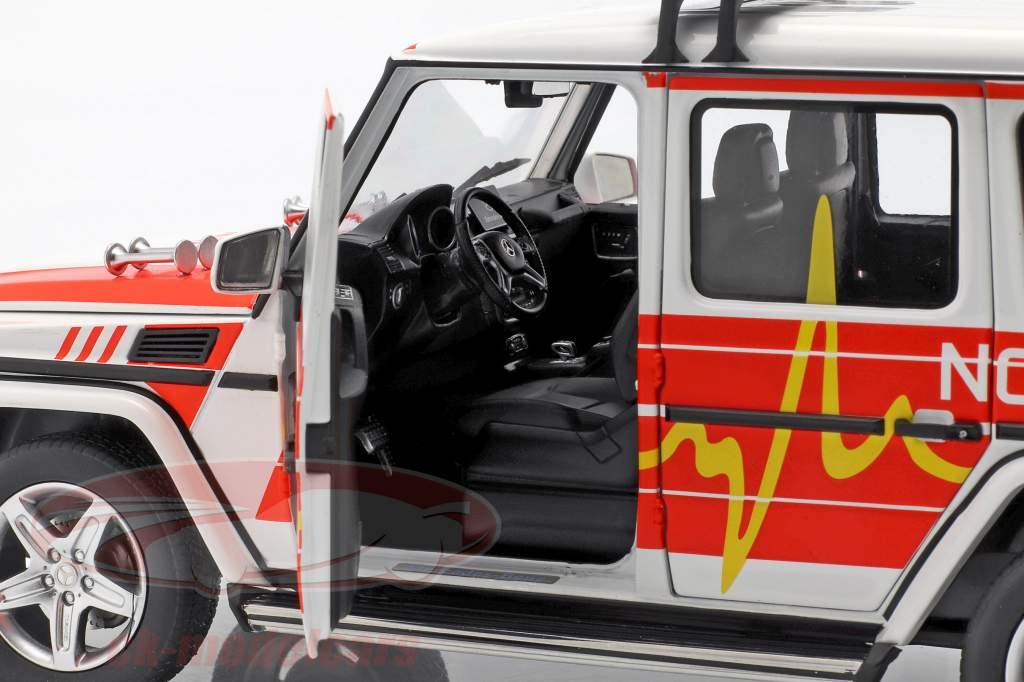 Mercedes-Benz G-Class (W463) 2015 Emergency 1:18 iScale