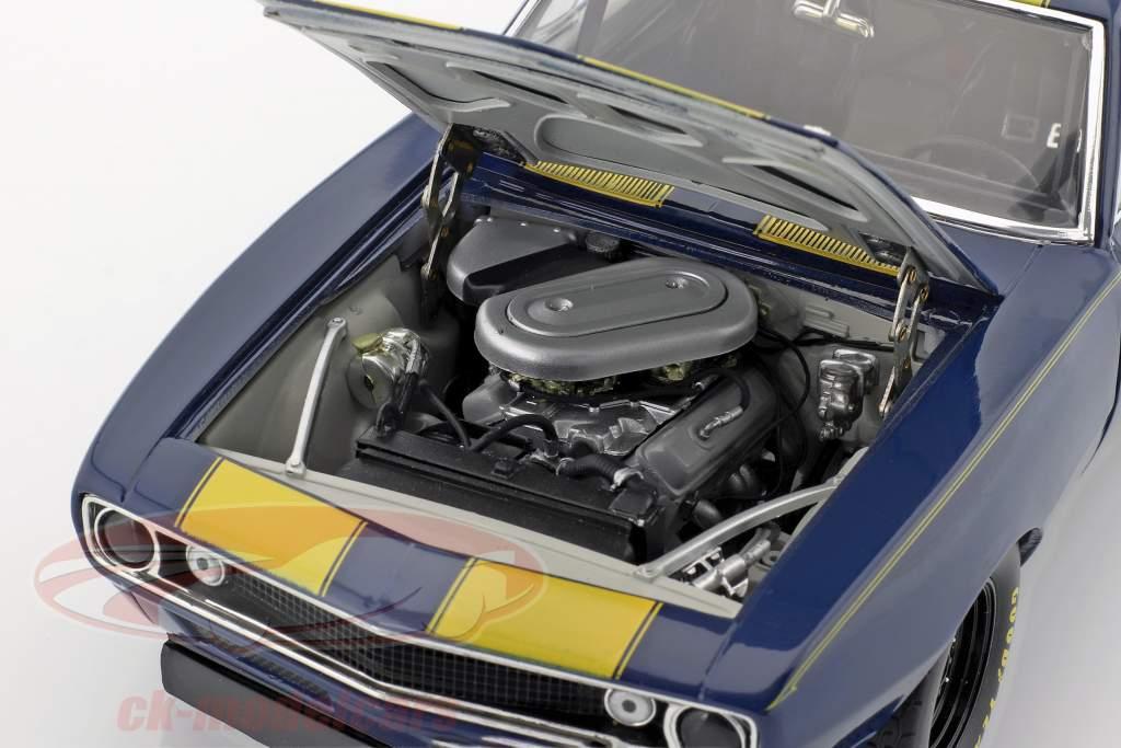 Chevrolet Trans Am Camaro 1967 blå / gul 1:18 GMP