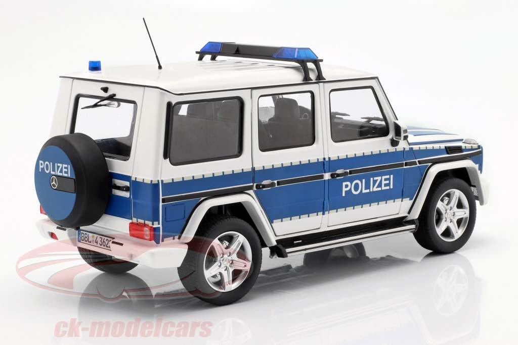 Mercedes-Benz G-classe (W463) 2015 polícia 1:18 iScale