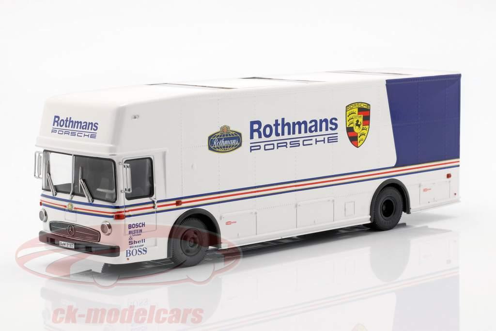 Mercedes-Benz O 317 raça caminhão Rothmans Porsche branco / azul 1:43 Schuco