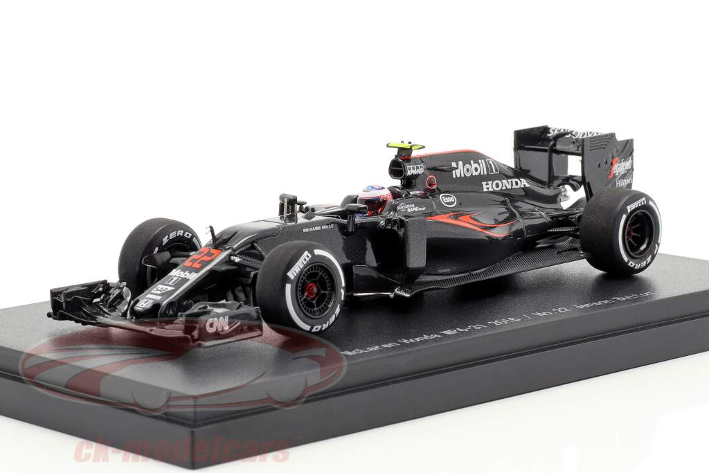 Jenson Button McLaren MP4-31 #22 formel 1 2016 1:43 Ebbro