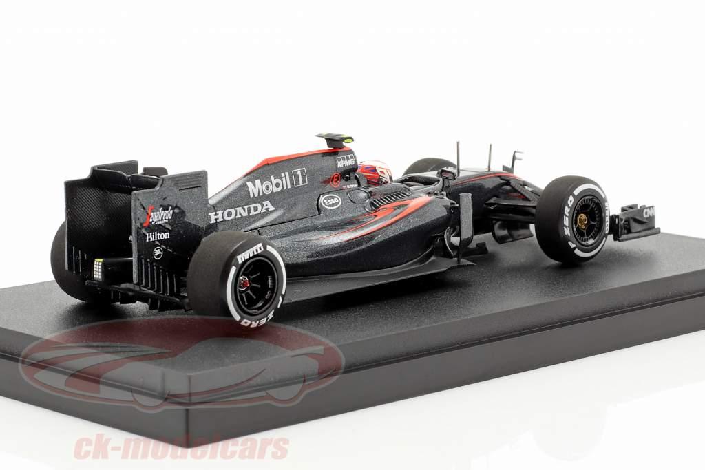 Jenson Button McLaren MP4-30 #22 Japão GP fórmula 1 2015 1:43 Ebbro
