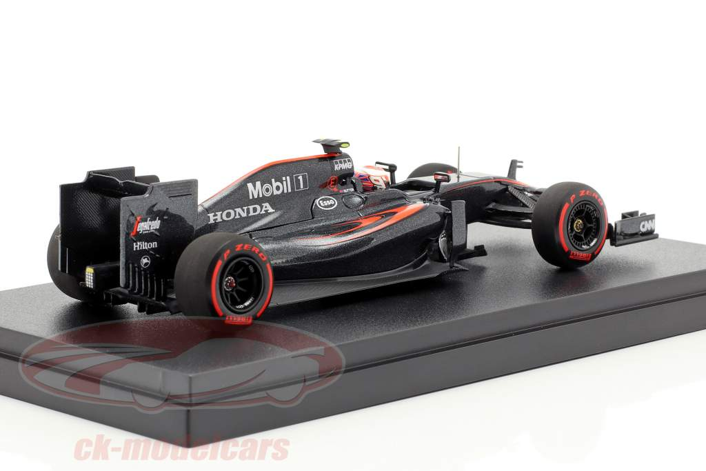 Jenson Button McLaren MP4-30 #22 Middle Season formel 1 2015 1:43 Ebbro