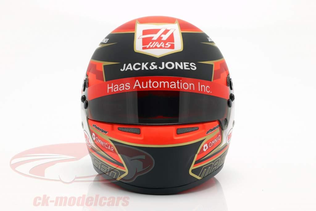 Kevin Magnussen Haas VF-19 #20 fórmula 1 2019 capacete 1:2 Bell