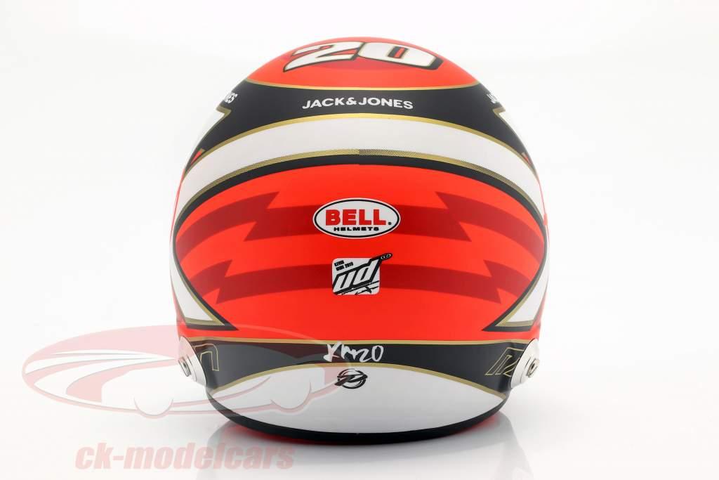 Kevin Magnussen Haas VF-19 #20 formel 1 2019 hjelm 1:2 Bell