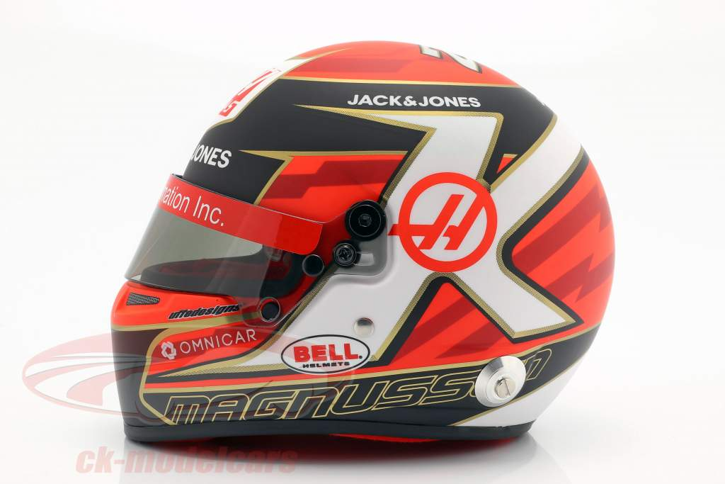 Kevin Magnussen Haas VF-19 #20 Formel 1 2019 Helm 1:2 Bell