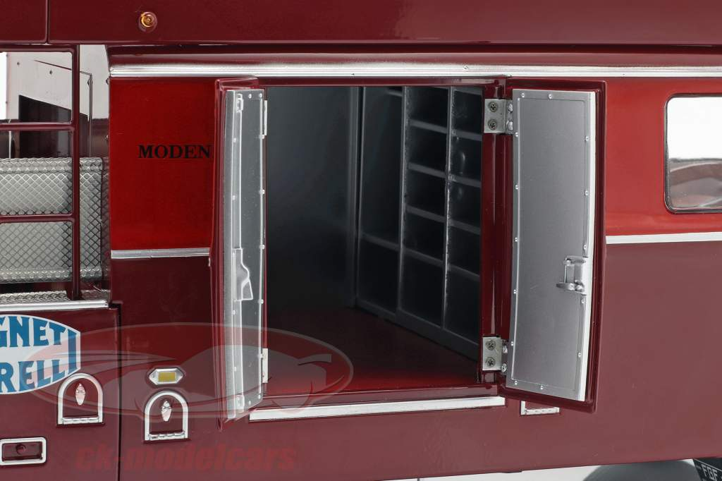 Fiat 642 RN2 Bartoletti Ferrari 种族 卡车 黑暗 红 1:18 CMR