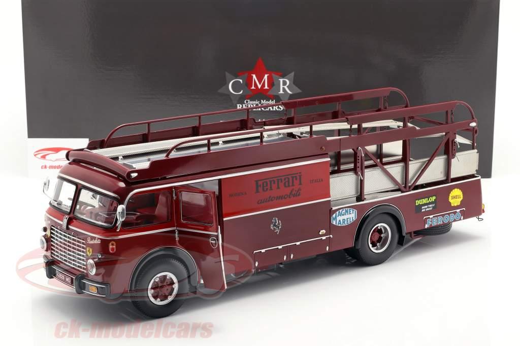 Fiat 642 RN2 Bartoletti Ferrari raza camión oscuro rojo 1:18 CMR
