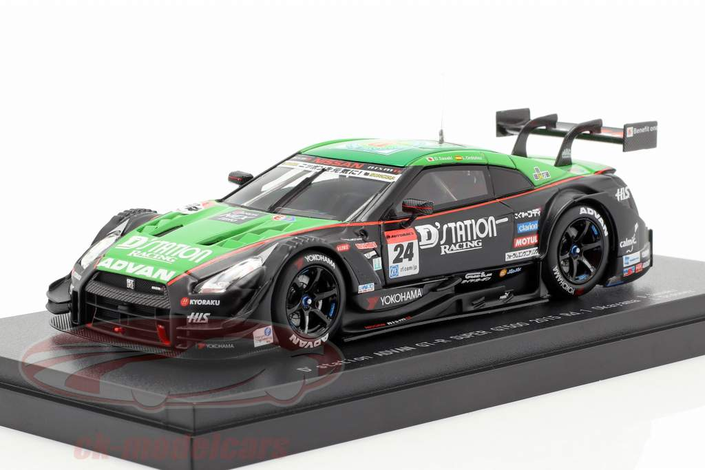 Nissan GT-R #24 Race 1 Okayama Super GT500 Series 2019 Sasak, Ordonez 1:43 Ebbro