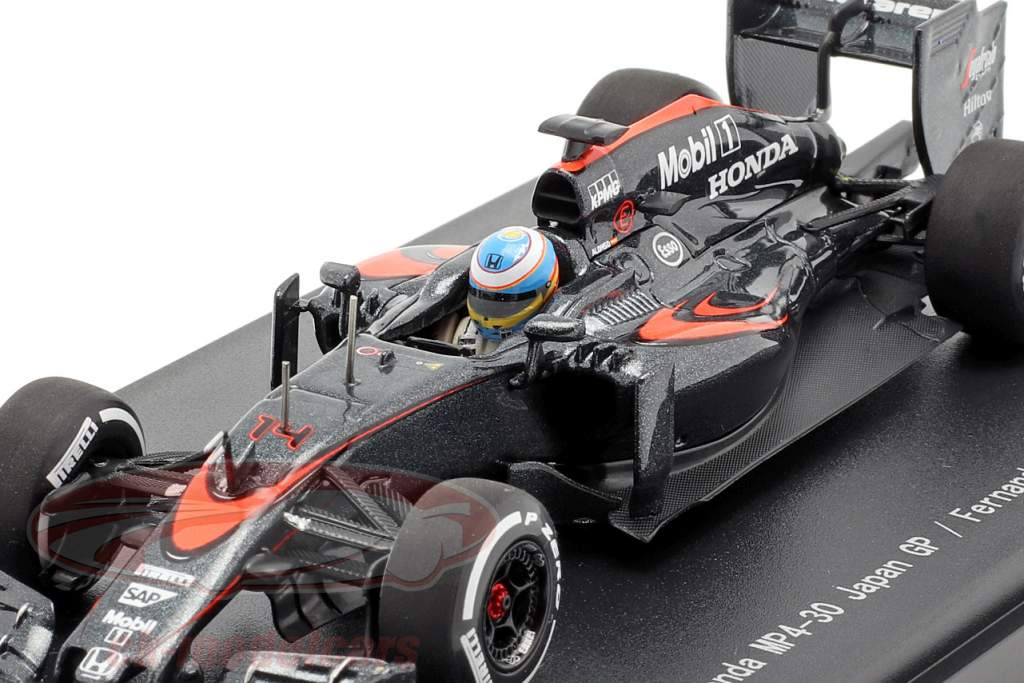 Fernando Alonso McLaren MP4-30 #14 Japon GP formule 1 2015 1:43 Ebbro