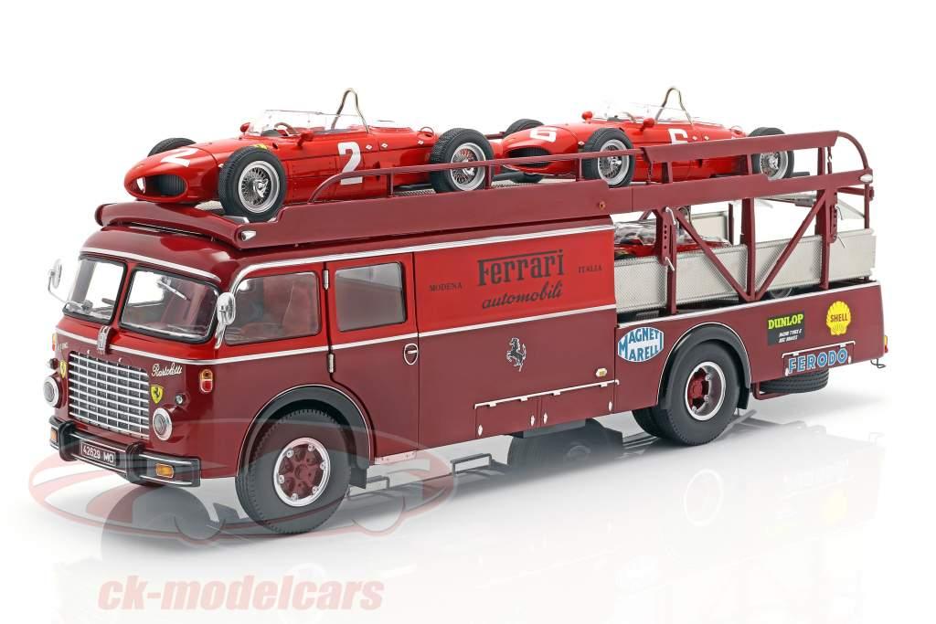 Fiat 642 RN2 Bartoletti Ferrari Renntransporter dunkelrot 1:18 CMR