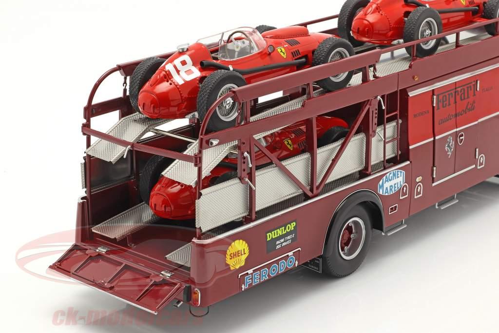 Fiat 642 RN2 Bartoletti Ferrari Race Truck dark red 1:18 CMR