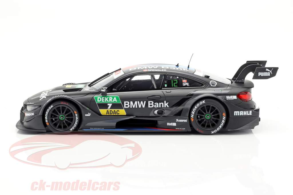 BMW M4 DTM #7 DTM 2018 Bruno Spengler 1:18 Minichamps