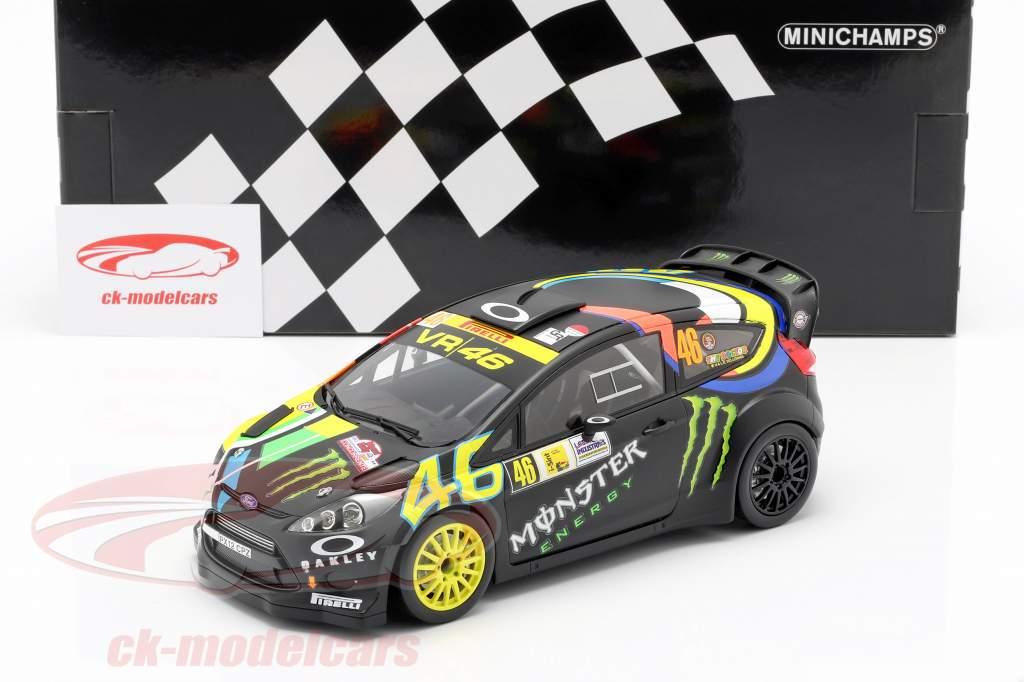 Ford Fiesta RS WRC #46 vencedor Monza Rallye Show 2012 Rossi, Cassina 1:18 Minichamps