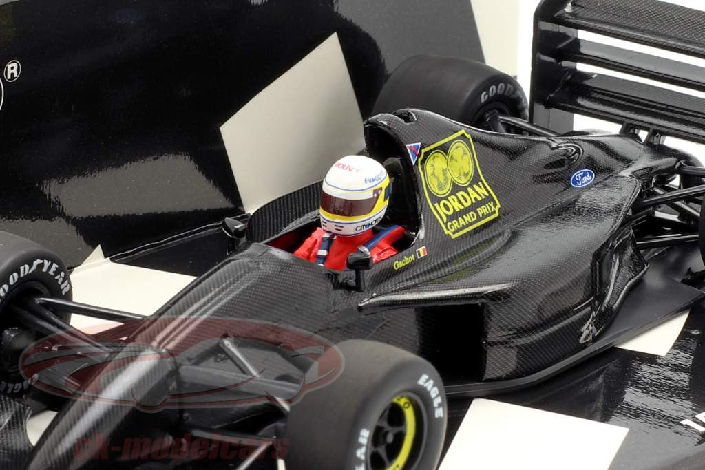 Bertrand Gachot Jordan 191 F1 Testing Paul Ricard janvier 1991 1:43 Minichamps
