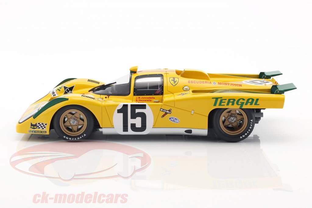 Ferrari 512 M #15 24h LeMans 1971 Vaccarella, Juncadella 1:18 CMR