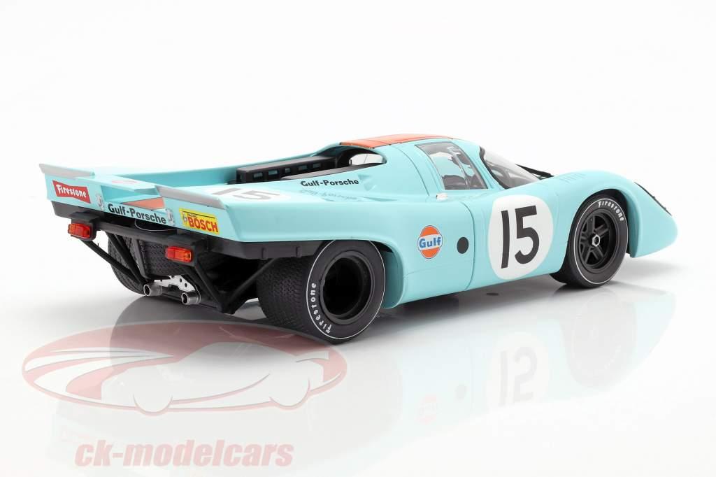 Porsche 917K #15 4th 12h Sebring 1970 Rodriguez, Kinnunen, Siffert 1:18 CMR
