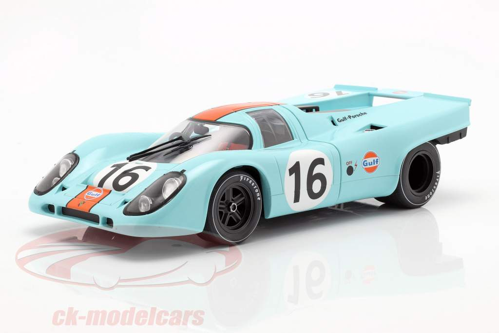 Porsche 917K #16 gagnant 1000km Zeltweg 1971 Rodriguez, Attwood 1:18 CMR
