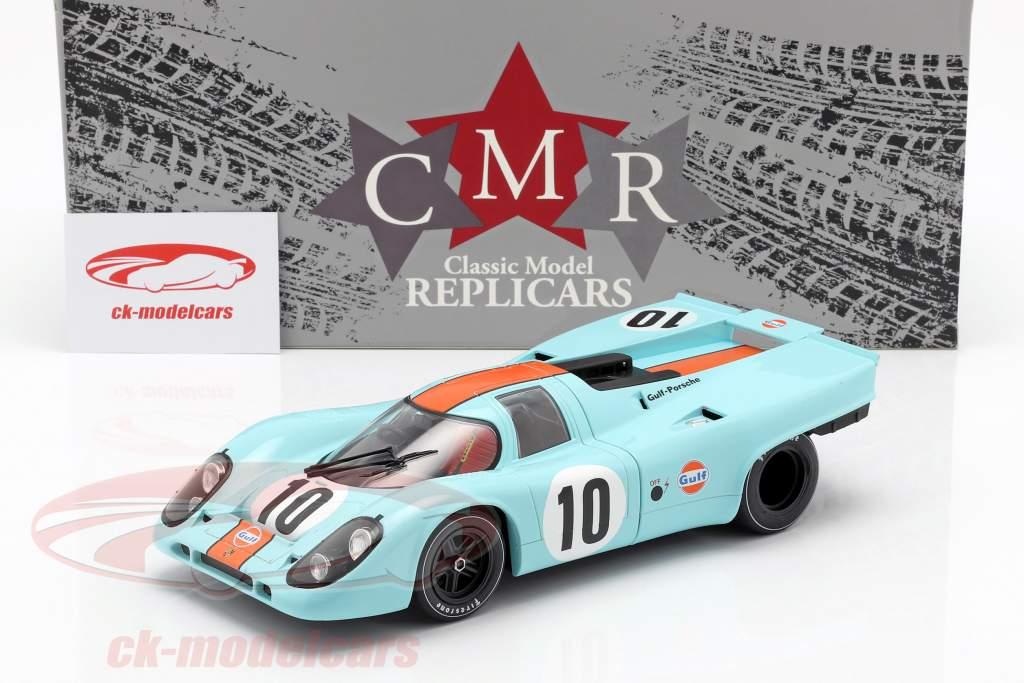 Porsche 917K #10 vencedor 1000km Brands Hatch 1970 Rodriguez, Kinnunen 1:18 CMR