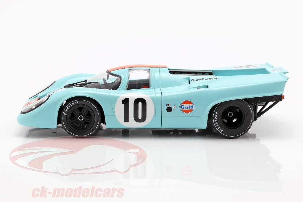 Porsche 917K #10 ganador 1000km Brands Hatch 1970 Rodriguez, Kinnunen 1:18 CMR