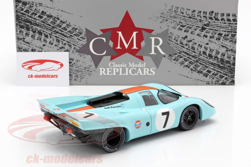 Porsche 917K #7 vincitore 1000km Monza 1970 Rodriguez, Kinnunen 1:18 CMR