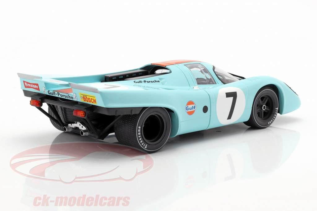 Porsche 917K #7 vencedor 1000km Monza 1970 Rodriguez, Kinnunen 1:18 CMR