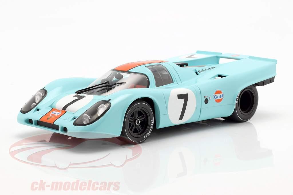 Porsche 917K Sportwagen WM 1970/71 Plain Body com Decal Set 1:18 CMR