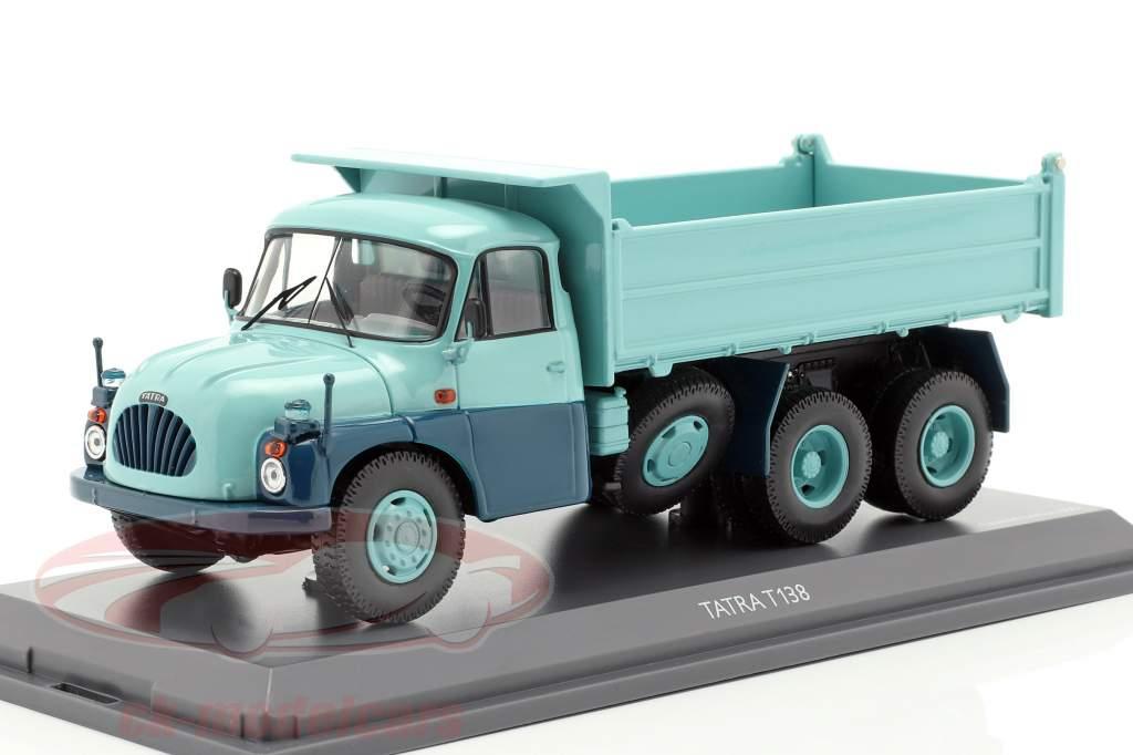 Tatra T138 dumper turkis / blå 1:43 Schuco