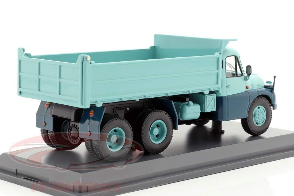 Tatra T138 Muldenkipper türkis / blau 1:43 Schuco