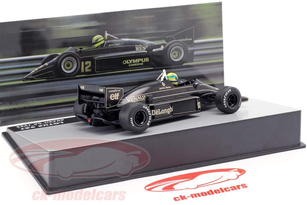 Ayrton Senna Lotus 98T #12 Brazilië GP formule 1 1986 1:43 Altaya